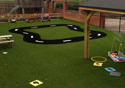 artificial grass play surface for nurseries